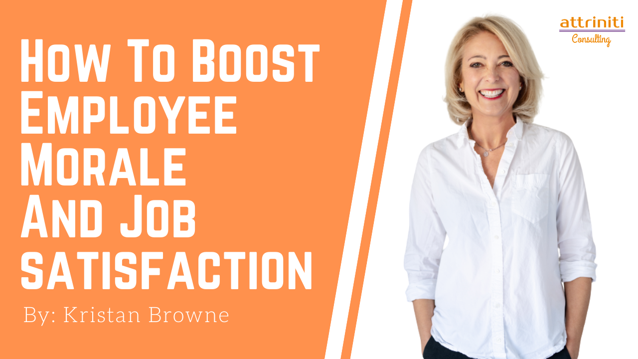 How to Boost Employee Morale and Job Satisfaction